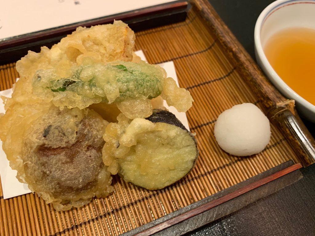 びわ湖大津プリンスホテルの『和食 清水』のすき焼き懐石の油物