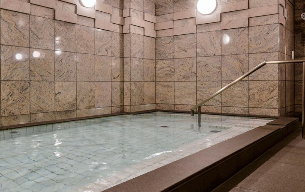 ベッセルイン千葉駅前の大浴場
