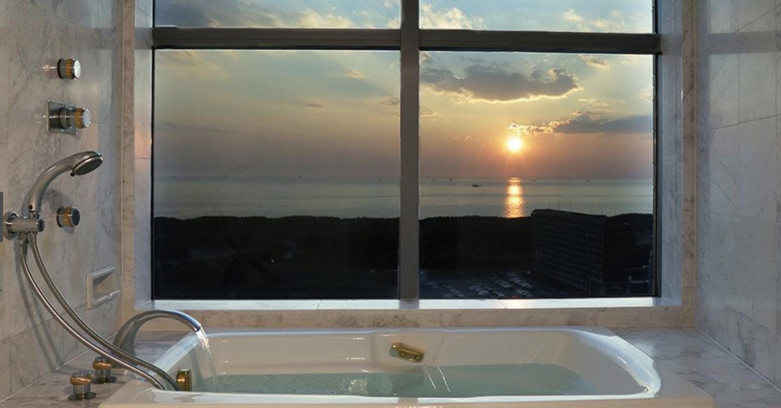 ホテルザマンハッタンからの眺め