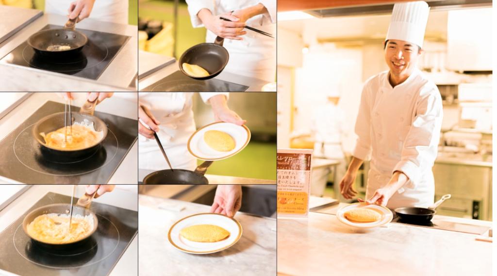 ホテル日航立川の朝食ブッフェ(シェフ特製オムライス)