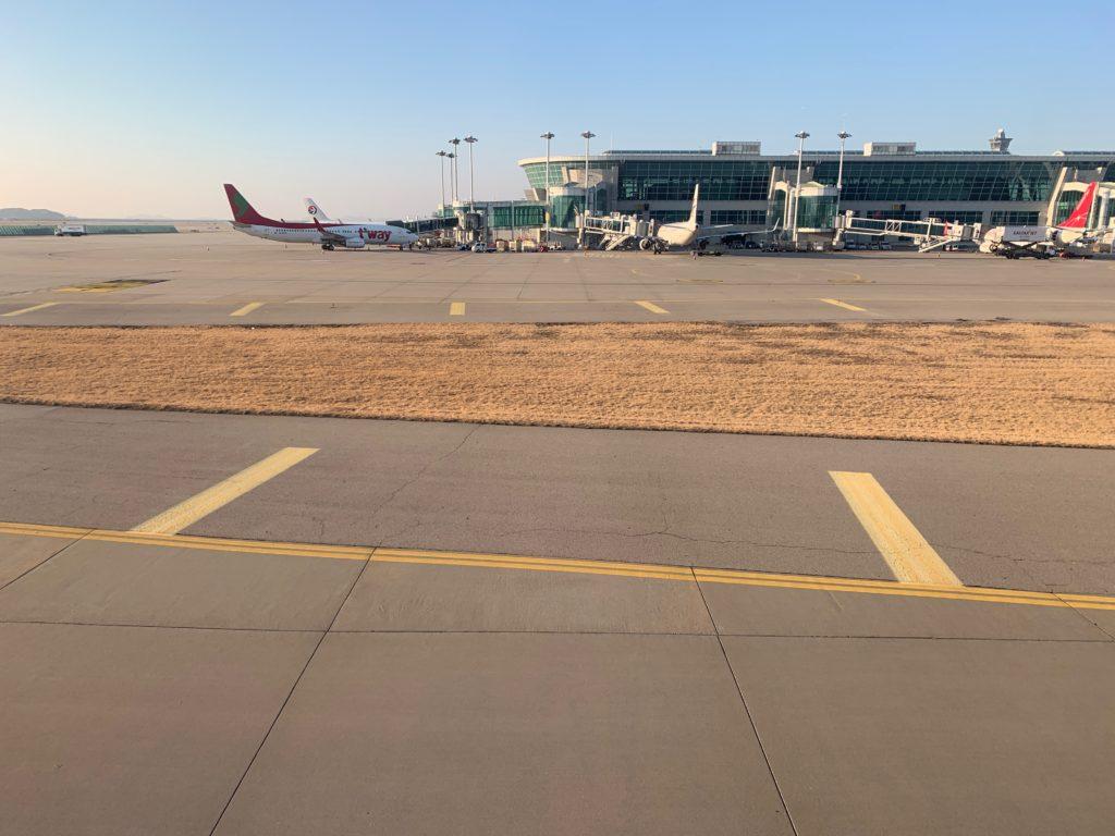韓国・仁川国際空港