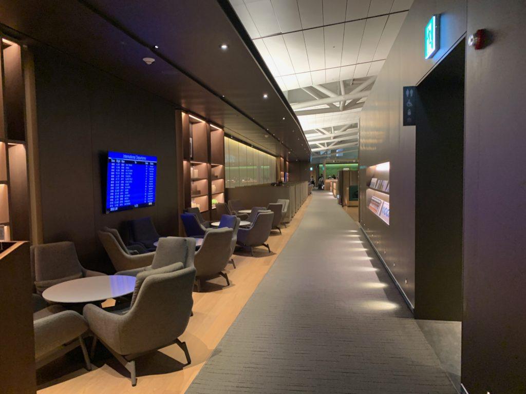 アシアナ航空『ビジネスラウンジ』の内部