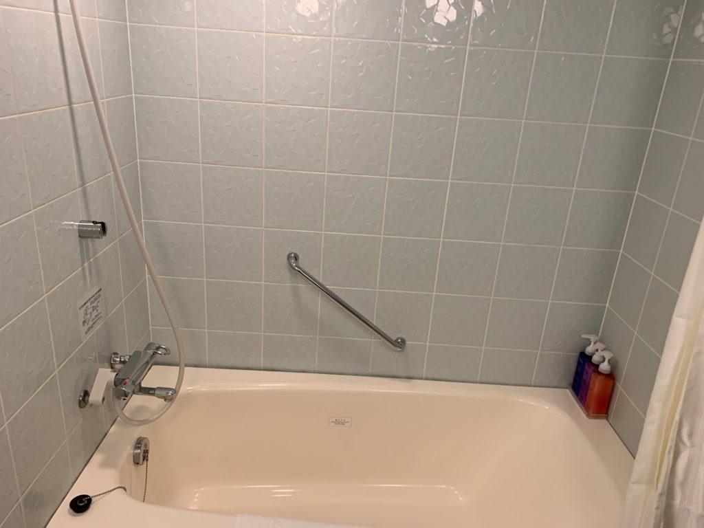 リッチモンドホテルプレミア武蔵小杉のモデレートツインルームのバスルーム