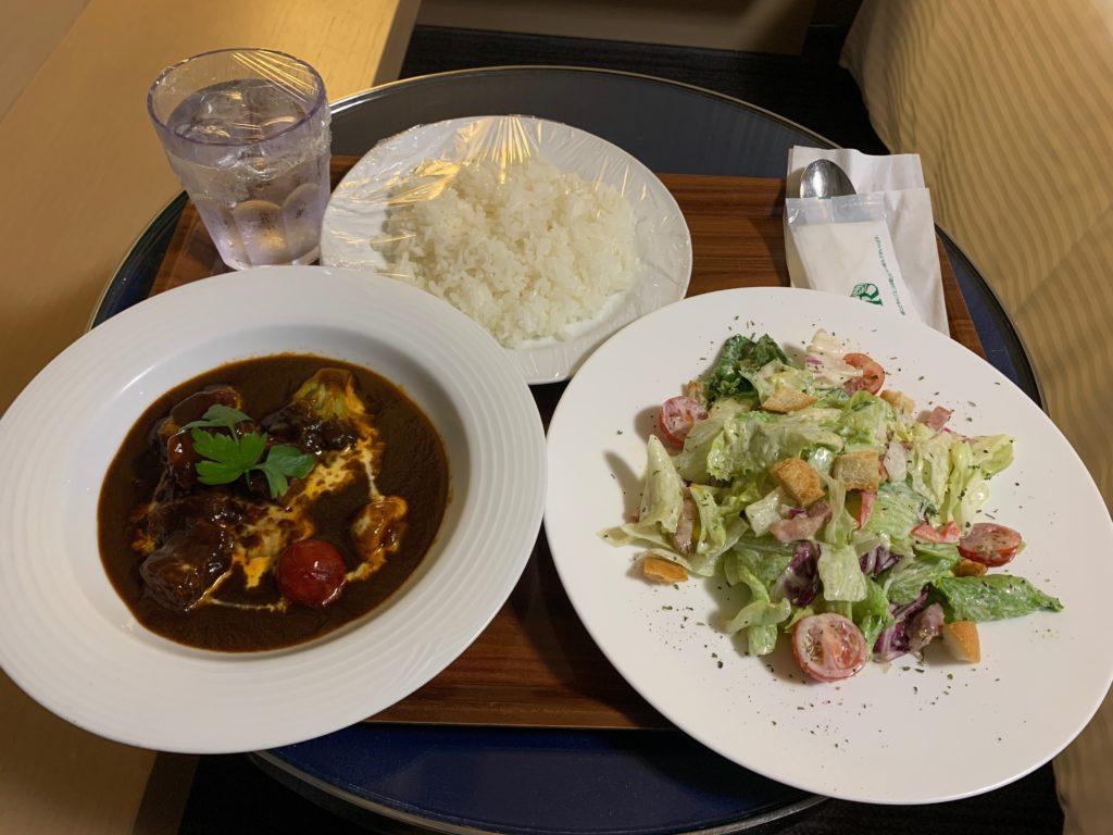 リッチモンドホテルプレミア武蔵小杉のルームサービス