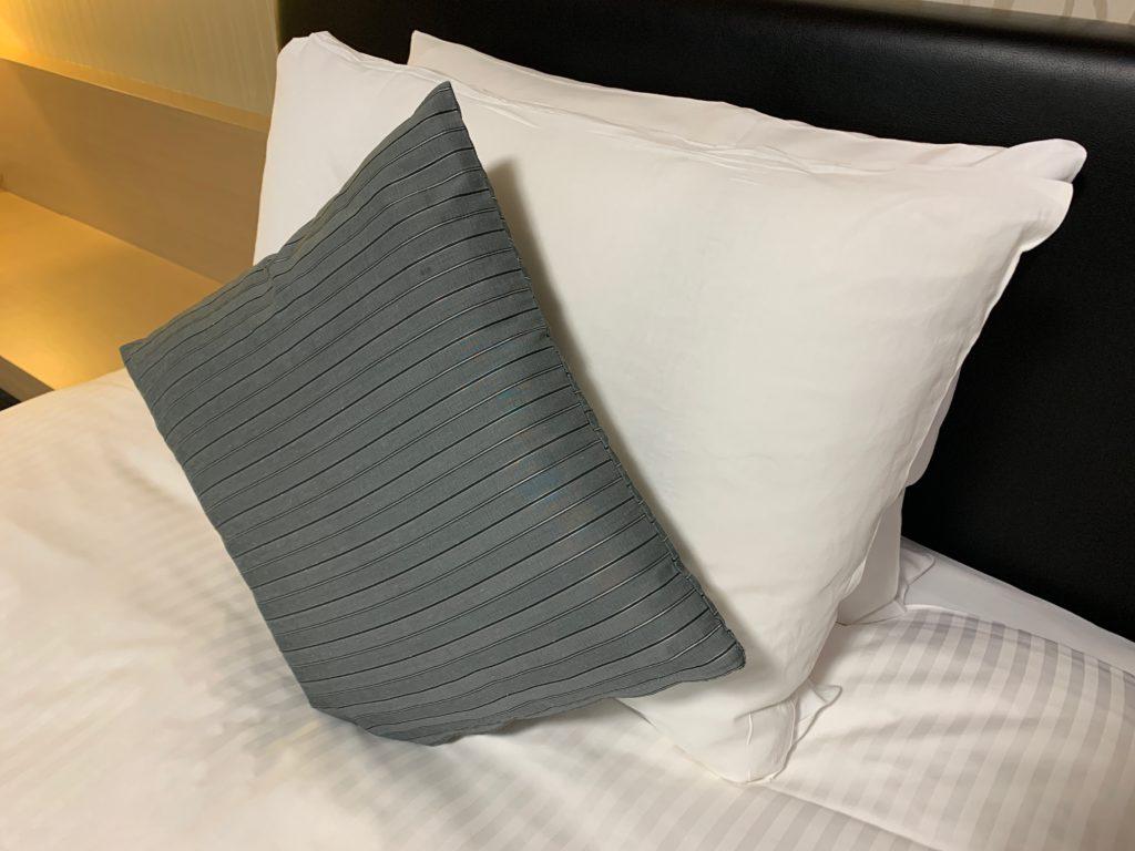 リッチモンドホテルプレミア武蔵小杉のモデレートツインルームの枕