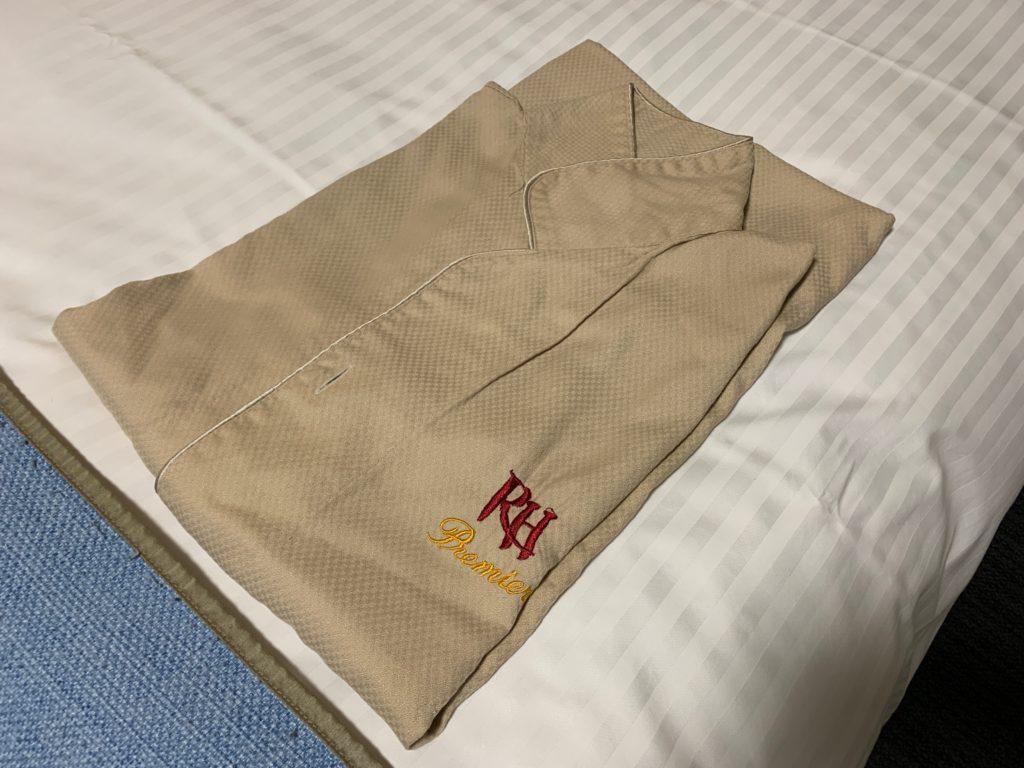 リッチモンドホテルプレミア武蔵小杉のモデレートツインルームからのルームウェア