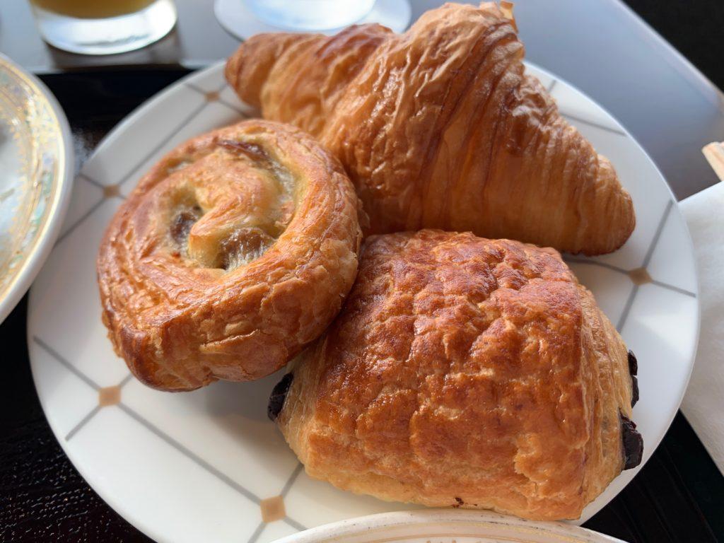 横浜ロイヤルパークホテルの70階スカイラウンジ・シリウスの洋朝食で提供されるパン