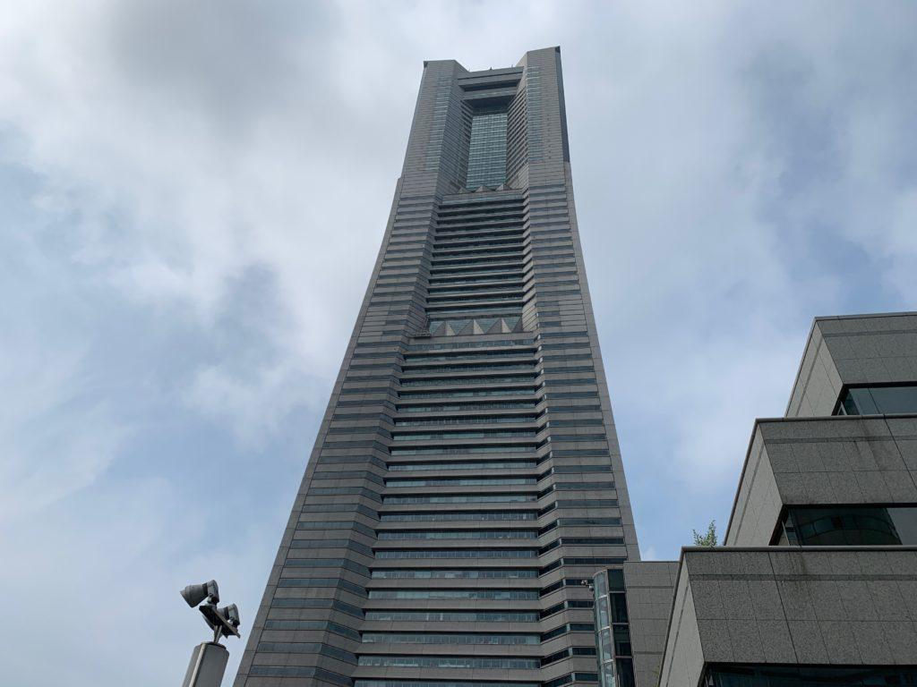 横浜ロイヤルパークホテルの外観