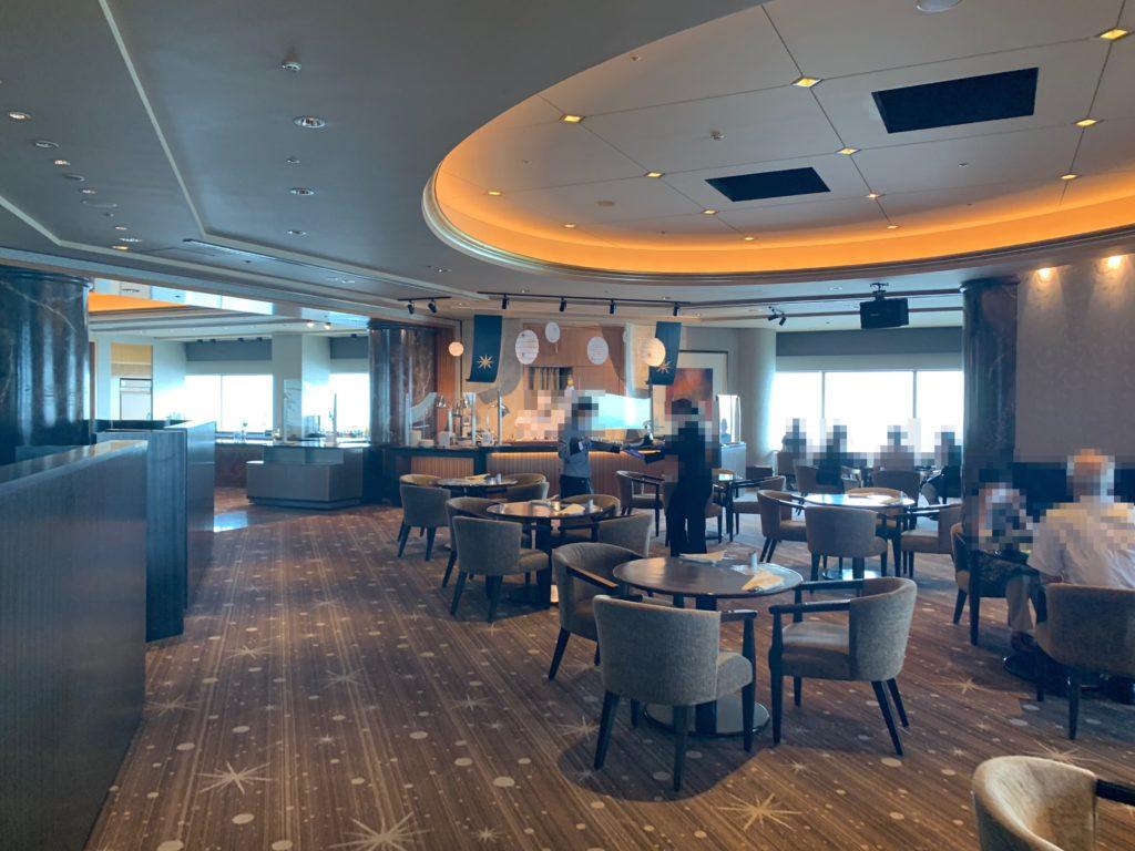 横浜ロイヤルパークホテルの70階スカイラウンジ・シリウス