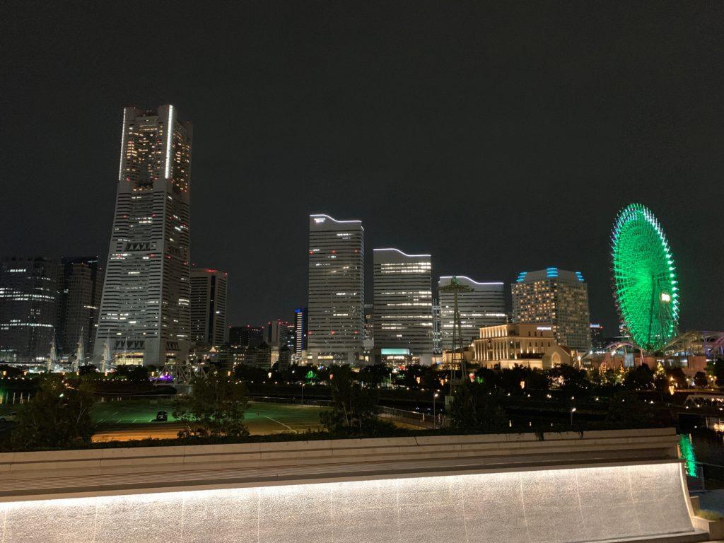 アパホテル&リゾート 横浜ベイタワーからの夜景