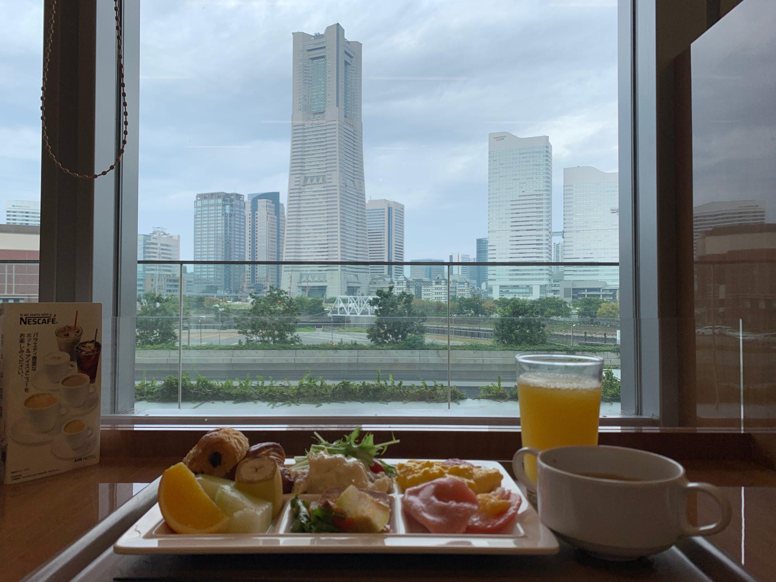 アパホテル&リゾート<横浜ベイタワー>で食べる朝食