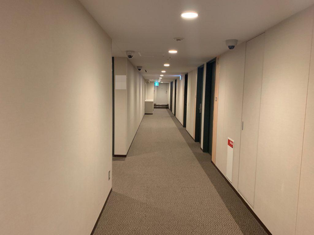 ダイワロイネットホテル横浜関内の宿泊階フロア