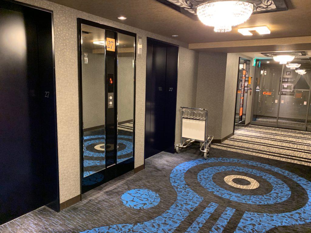 アパホテル&リゾート 横浜ベイタワーの宿泊階