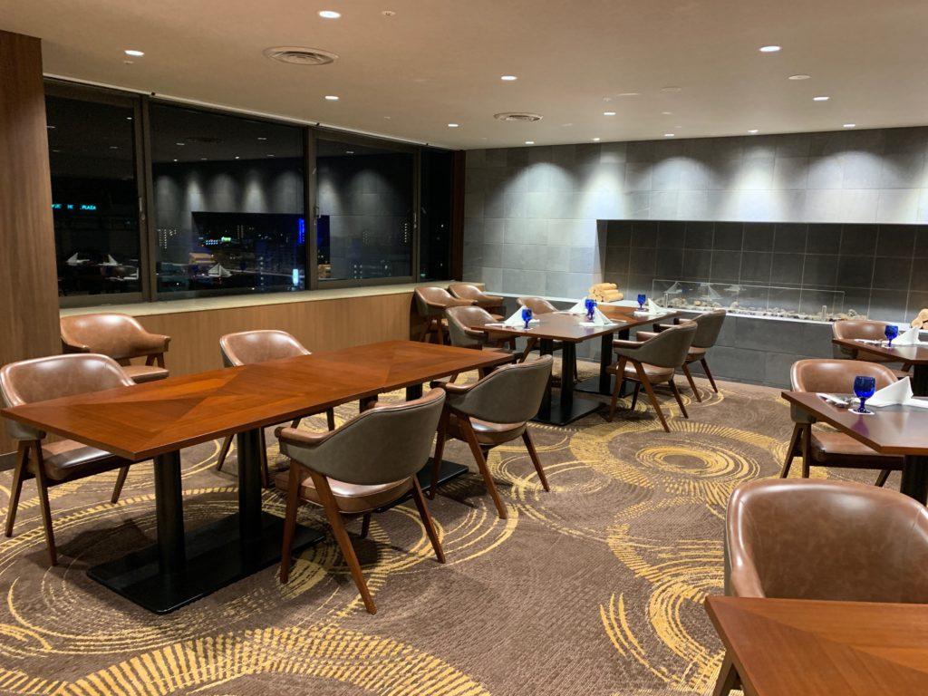 ホテルニューオータニ鳥取の最上階13階のレストラン「グリルベルビュー」