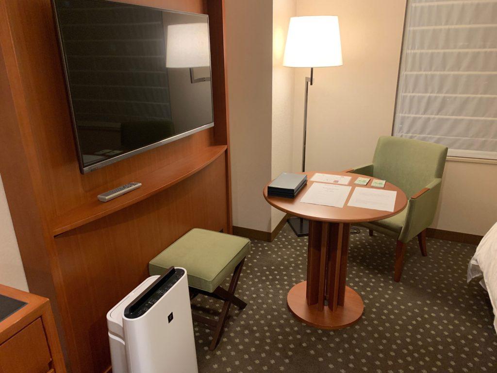 横浜ベイシェラトンホテル&タワーズのスタンダードダブルルーム