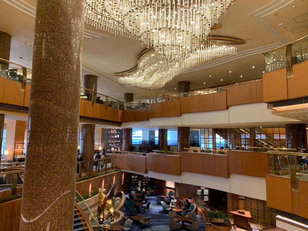 横浜ベイシェラトンホテル&タワーズのロビー