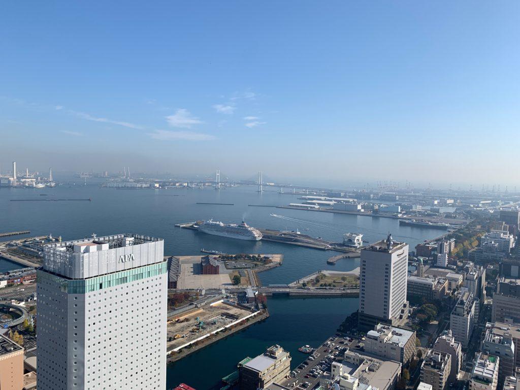 オークウッドスイーツ横浜の眺望