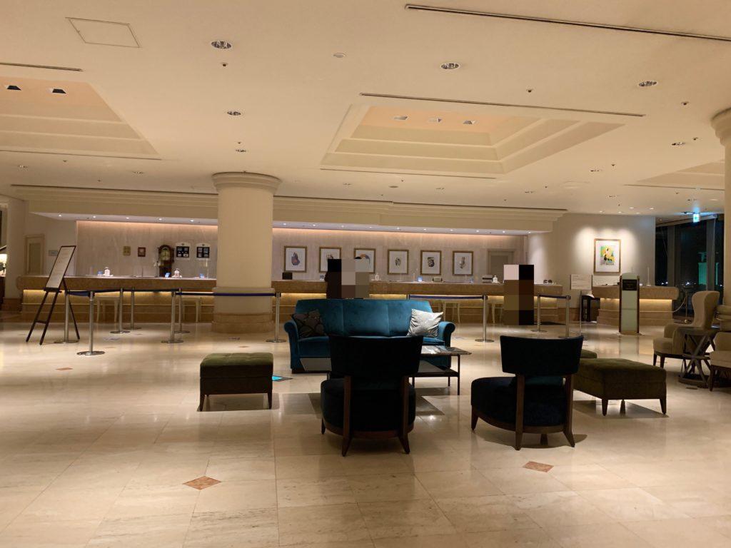 ヨコハマ グランド インターコンチネンタル ホテルのフロント