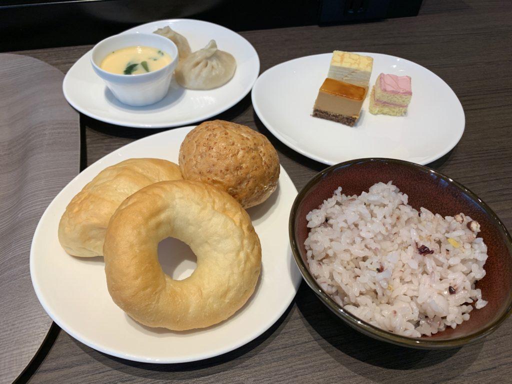 銀座  露天の湯  日和ホテル東京銀座EASTのレストラン 杏の朝食ビュッフェ