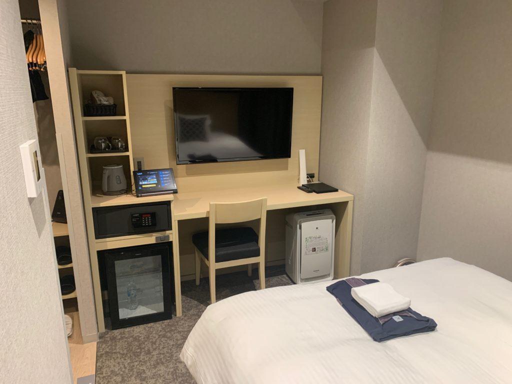 銀座  露天の湯  日和ホテル東京銀座EASTの客室