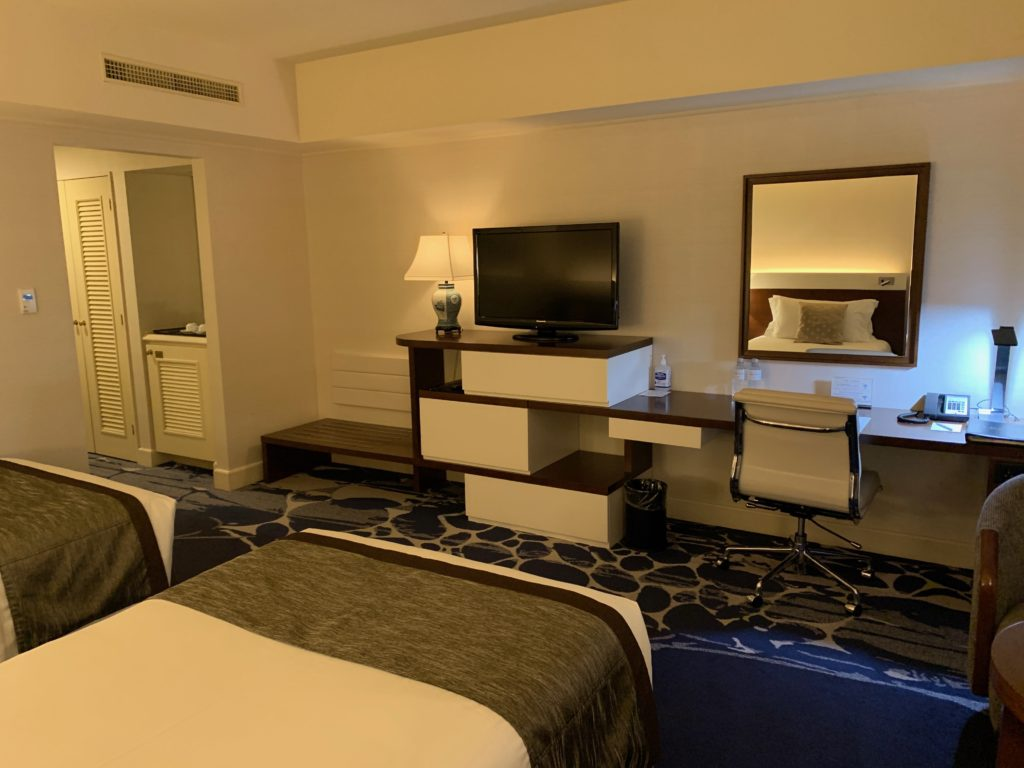 ヨコハマ グランド インターコンチネンタル ホテルのデラックスツインルーム