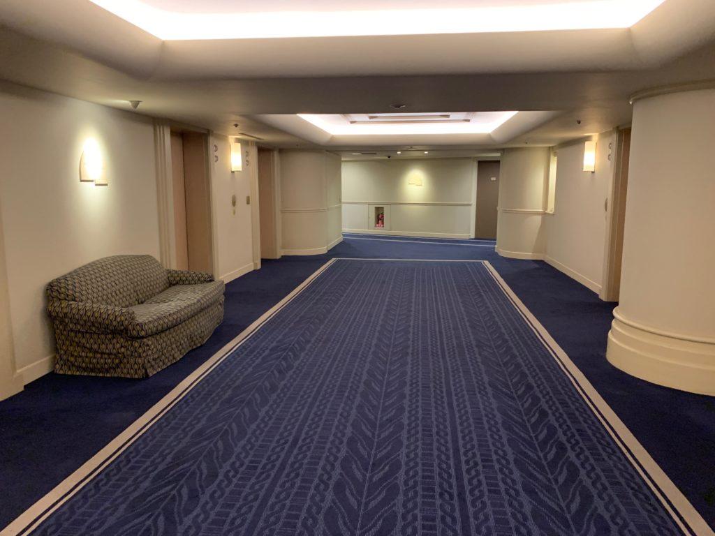 ヨコハマ グランド インターコンチネンタル ホテルのエレベーターホール