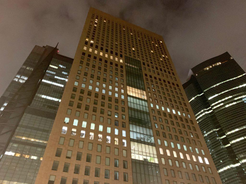 ザ ロイヤルパークホテル アイコニック 東京汐留の外観
