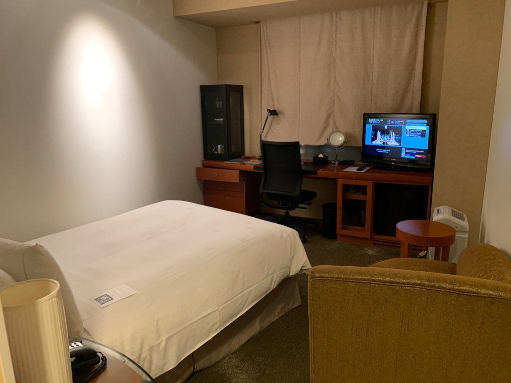 ザ ロイヤルパークホテル アイコニック 東京汐留のエコノミーダブルルーム
