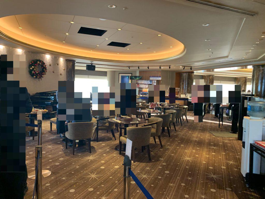 横浜ロイヤルパークホテル70階スカイラウンジ・シリウス