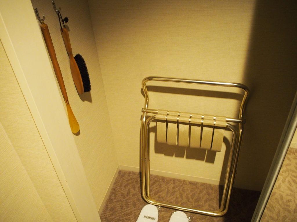 横浜ロイヤルパークホテル『コーナーツインルーム』のクローゼット