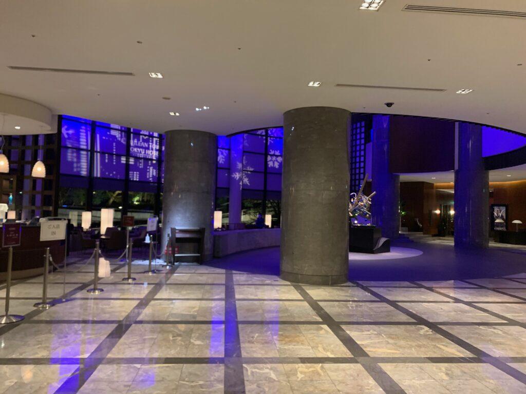 セルリアンタワー東急ホテルのロビー