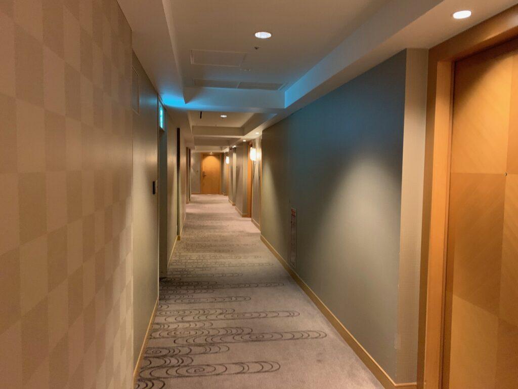 セルリアンタワー東急ホテルの宿泊フロア