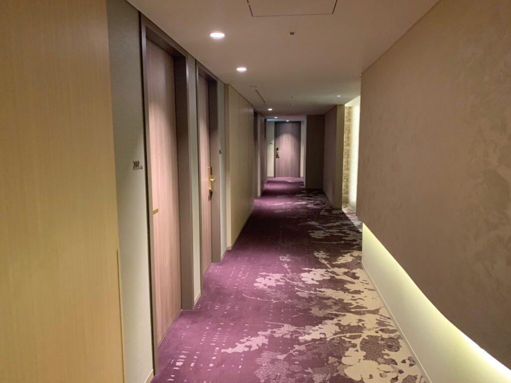 ホテルメトロポリタンさいたま新都心の客室フロア