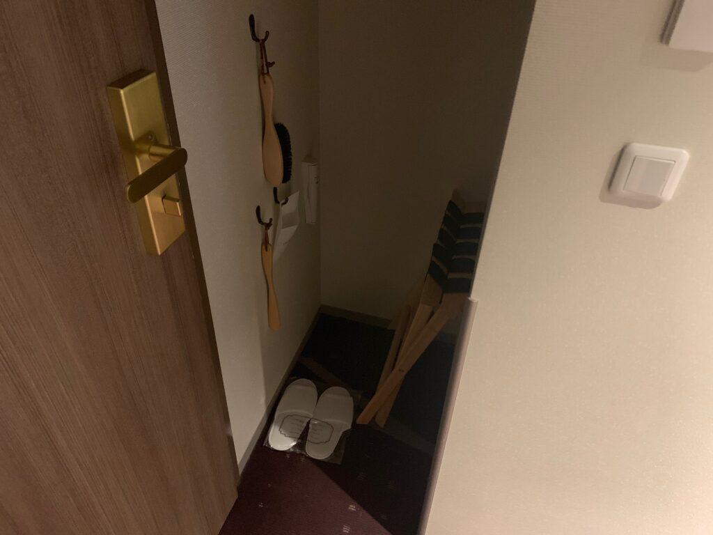 ホテルメトロポリタンさいたま新都心のスーペリアダブル(19㎡)のクローゼット