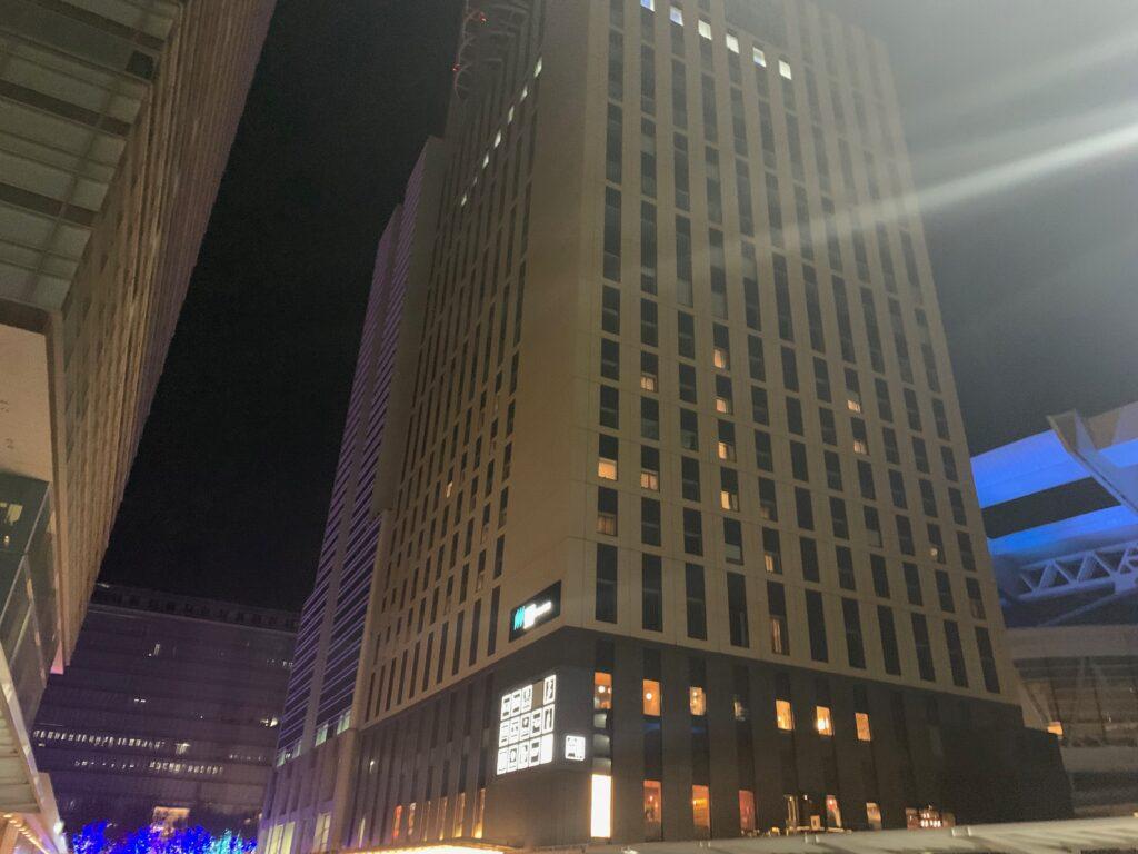 ホテルメトロポリタンさいたま新都心の外観