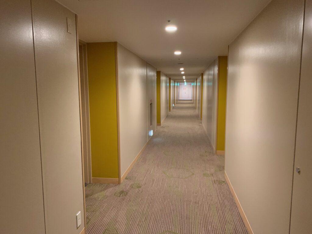 新宿プリンスホテルの宿泊フロア