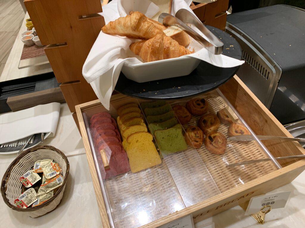 ホテルメトロポリタンさいたま新都心の朝食ビュッフェ